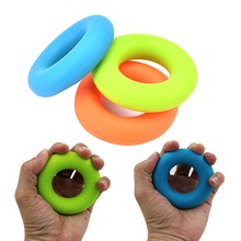1 шт. Эспандеры для пальцев ручной захват предплечья наручные тренировочные носилки упражнения тяговое кольцо ручки расширитель фитнес оборудование