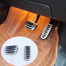 Для Freelander 2 на автомобиль Интимные аксессуары педаль для тормоза и педаль акселератора колодки Обложка Алюминий сплав Запчасти 07- 15