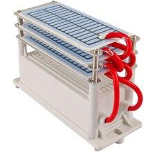 18 g/h Generator ozonu 3 warstwy moistureproof niebieski film ozonizator powietrza filtr do wody sterylizator leczenie Generator ozonu 110V 220V