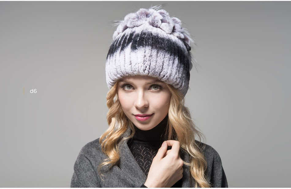 fur winter hats for women PCM003 (17)