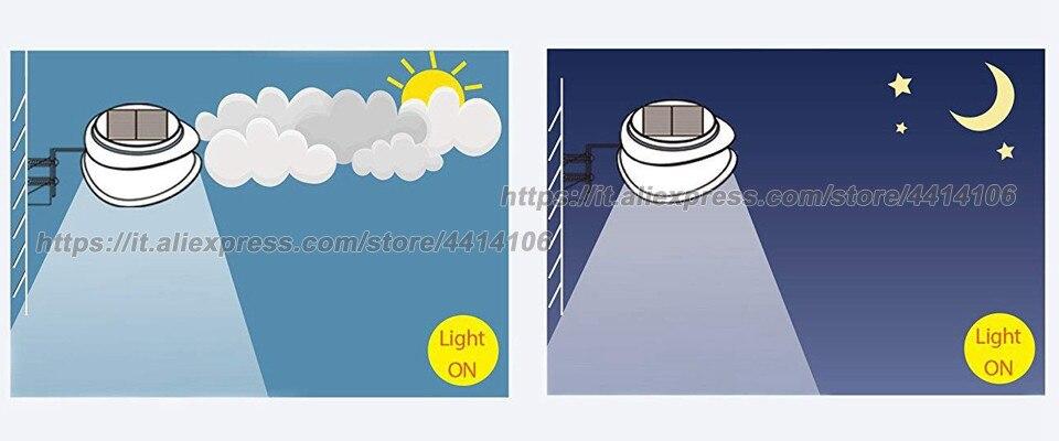 6 pacote negócio calha solar ao ar