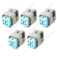 5 Sets 4 Pin Automotive Electronic Connector Plug Harness Female DJ7041YA-2.2-21, 6189-6887