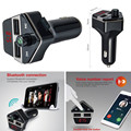 Wireless Bluetooth FM Transmitter Car MP3 Player HandsFree Calls Dual USB charger for iOS Phone Android Phone/ Tablet/Pad