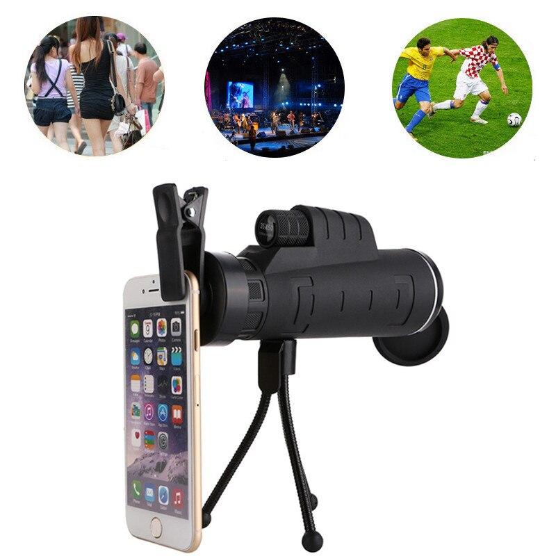 Orsda hd telefone móvel 35x 40x telescópio câmera zoom lente óptica monocular lentes telefoto para iphone samsung huawei smartphonelenses for smartphonetelephoto lensestelescope mobile phone -