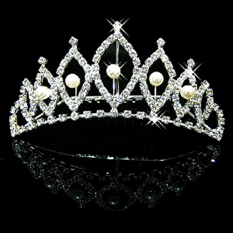 HTB1DgwrMVXXXXXjXXXXq6xXFXXXb Majestic Prom Pageant Wedding Bride Bridesmaid Jewelry Comb Tiara - 13 Styles