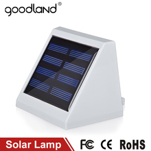 Goodland LED Solar Lamp Outdoor Lighting LED Light Garden Decoration High Bright Wall Lamps Waterproof IP65 For Home Corridor