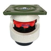 4pcs GD 40 F Foot Level Adjustment Equipment Caster 100kg Load Capacity Furniture Leveling Roller Master