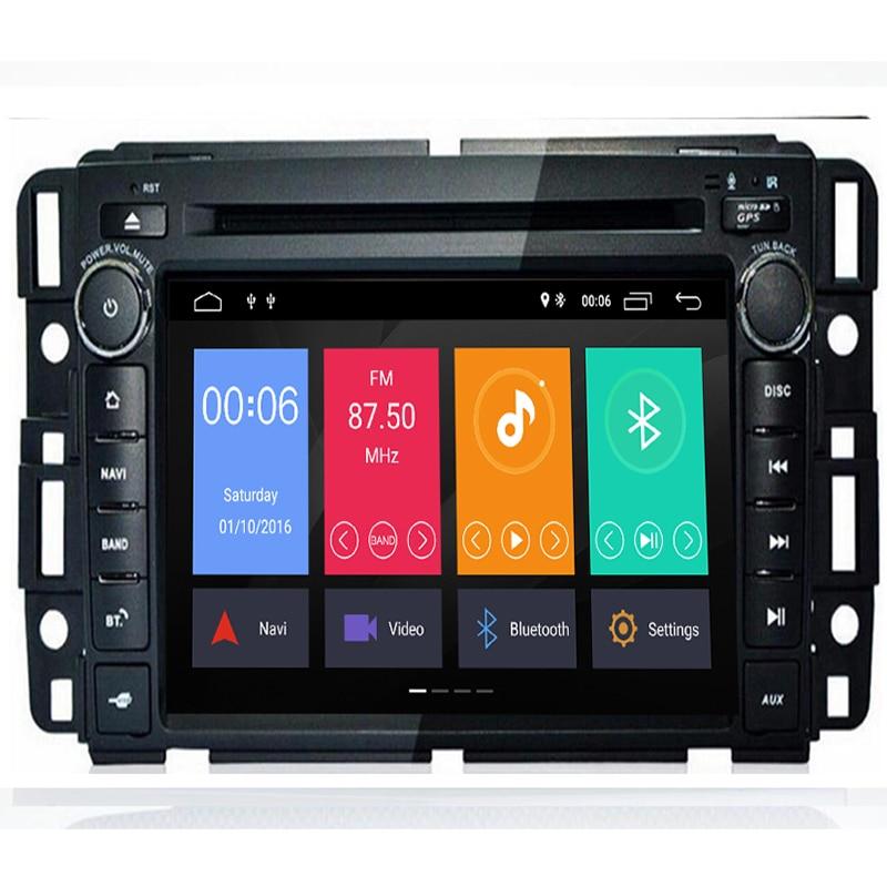ROM 32G octa Core Android 9.0 Fit GMC Enclave Yukon Tahoe Acadia banlieue 2007-2012 lecteur DVD de voiture Navigation multimédia DVD GPS