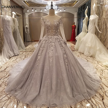 LS54379 вечернее платье корсет назад бисерный тюль Линия возлюбленной длинное вечернее платье на продажу abendkleider lang real photos