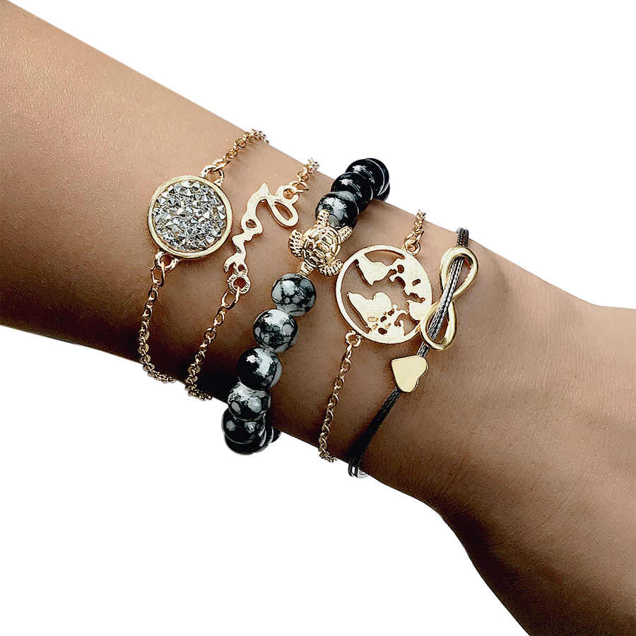 0c9f1e34b8ae0 Detail Feedback Questions about Boho Multi Layered Love World Map ...