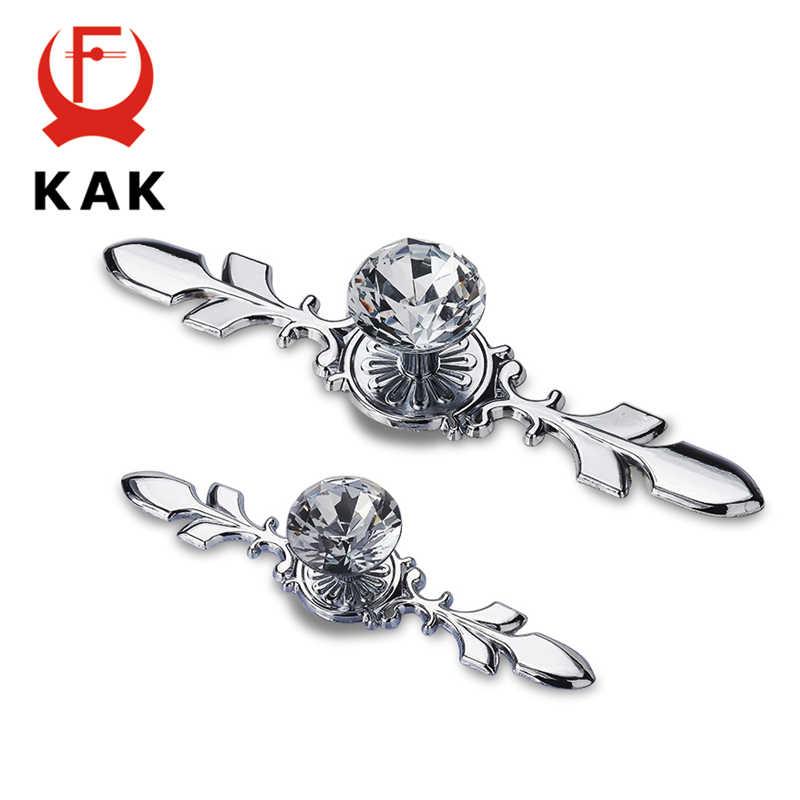 KAK 5 adet lüks elmas kristal kolları ayakkabı kutusu dolap kolları dolap kapı çekmece kolları dolap Pulls çektirme mobilya kolu