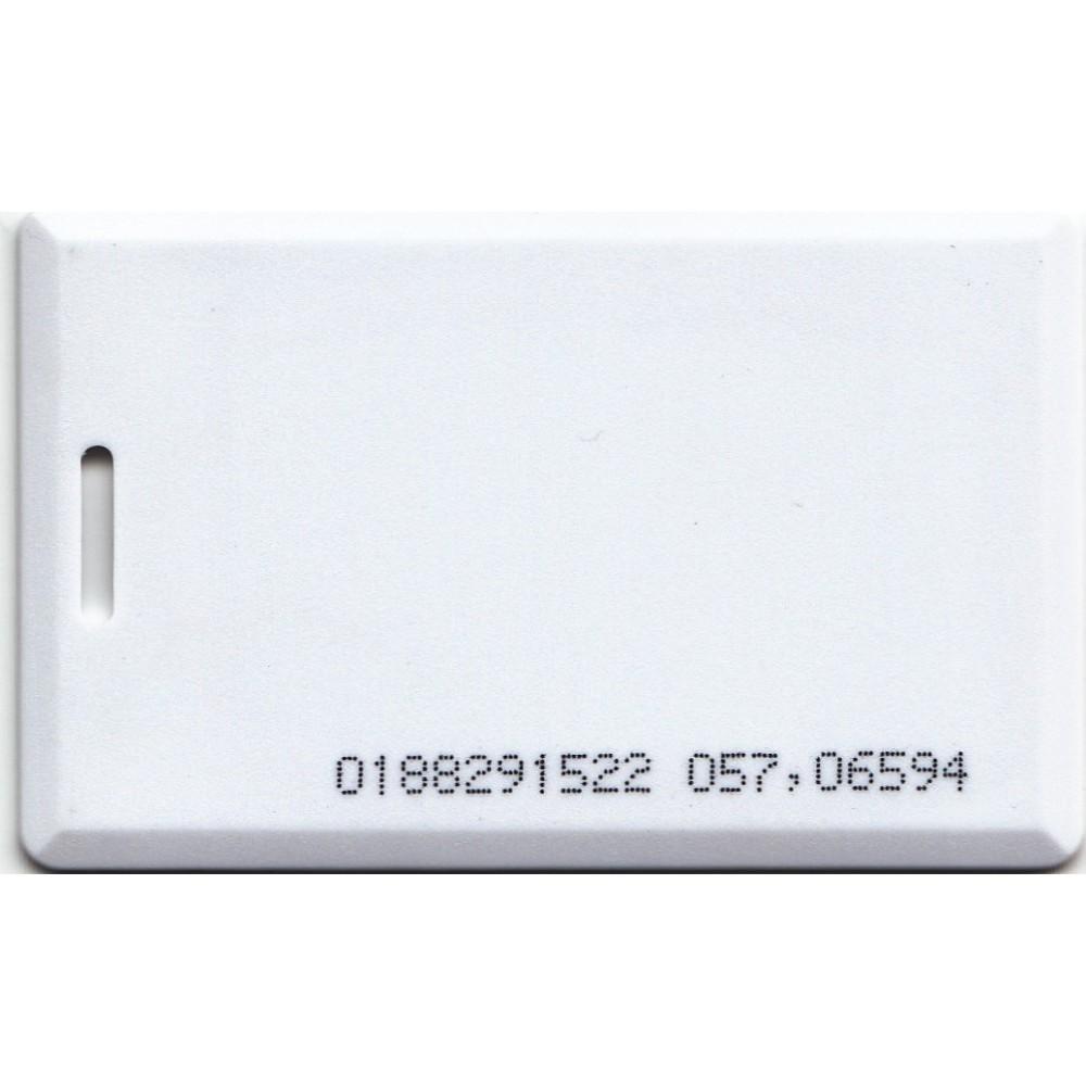 125khz Clamshell Em4100 Rfid Proximity Plastic ID White Cards EM Thick Card Read Only 1.8mm 1Pcs turck proximity switch bi2 g12sk an6x