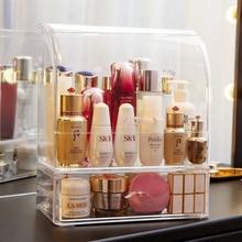Clear moustach shape perfume bottles makeup organizer lipstick storage box transparent plastic makeup storage lipstick box C5066
