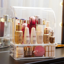 Klar moustach form parfüm flaschen make up organizer lippenstift lagerung box transparent kunststoff make up lagerung lippenstift box C5066
