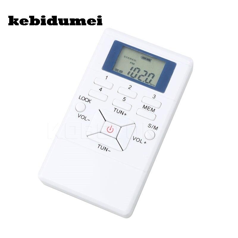 Tragbares Audio & Video Kebidumei Neue Mini Radio Frequenz Modulation Digitale Mit Led-anzeige Fm Radio Empfänger Signal Verarbeitung Mit Kopfhörer