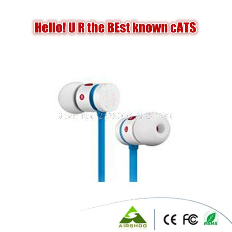 Free Ship Hello K Earphone Sports Earbuds With Microphone Best Earphones With Retailer Box for mp3/mp4/ all Cellphone