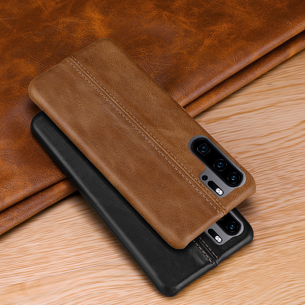 Image 3 - Genuine Leather Case For Huawei P30 Pro Ultra Slim Full Body Non Slip Grip Scratch Resistant Cover Cases for P20 Pro P10 Plus-in Fitted Cases from Cellphones & Telecommunications