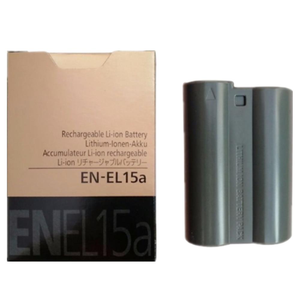 EN-EL15A EN-EL15 EN EL15 lithium batteries pack EN EL15A Digital camera battery For Nikon D810 D610 D7500 D7200 MH-25 MB-D15 en el15a 7 4v 3200mah battery pack for nikon mb d11 std nd7000