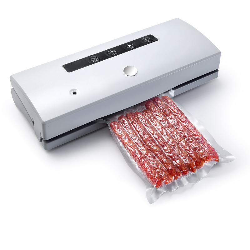 Small Vacuum Sealing Machine  Automatically For kitchen household  Vacuum Packaging Machine with 20 PCS bags Vacuum Sealer household vacuum packaging sealing machine sealer wet and dry use 30cm 110w 220v