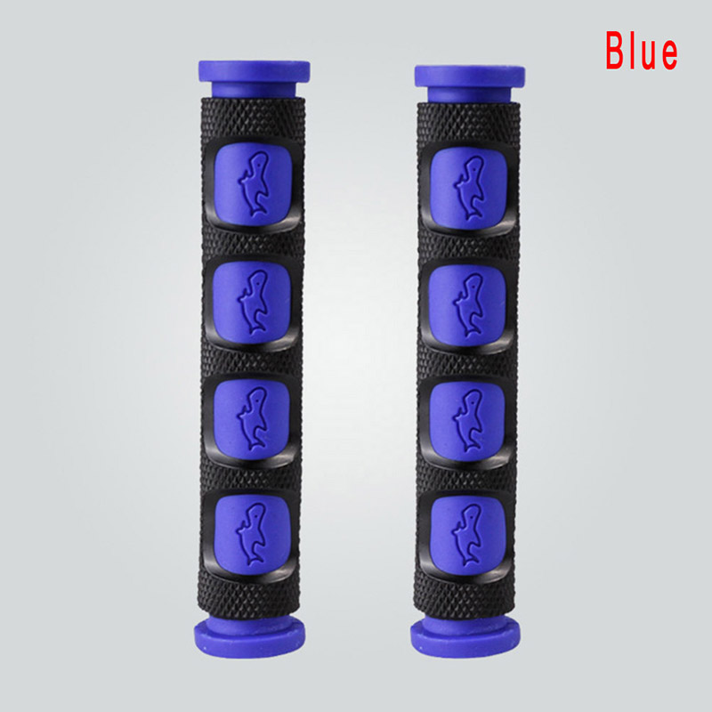 2 шт./пара окружающей среды резиновые мотоциклетный рычаг для тормоза, сцепления для рукоятки руля для мотоцикла защита рукоятки - Цвет: Синий