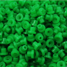 "100 PCS Green Soft Silicone Durable ""T""Grommets Tattoo Nipple Tattoo Accessories For Tattoo Needles"