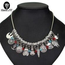 Star War Choker Necklace School Badge pins necklaces pendants BB 8 Robot Darth Vader necklaces Women