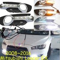 Mitsubish Lancer EX Daytime Light 2008 2016 Free Ship LED Lancer Fog Light Outlander ASX Lancer