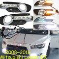Mitsubish Lancer EX дневной свет; 2008 ~ 2016, бесплатные корабль! LED, авто противотуманные фары, Outlander, ASX, Lancer EX
