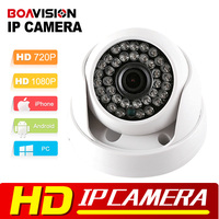 HD IP Camera 720P 1080P Indoor Dome Cam IR Leds Lens 3 6mm XM 2MP CCTV