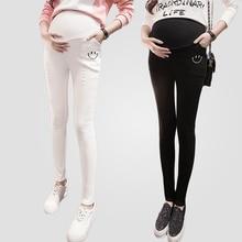 2016 fall font b Maternity b font Skinny Pregnancy Long Pants Trousers Winter Pregnant Women font