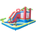 Kingdom Inflatable Bouncy Castle Bounce House moonwalk Jump Inflatable Bouncer Trampoline Water Slide