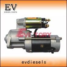 Для фронтальный погрузчик Mitsubishi двигателя S4E S4E2 стартер