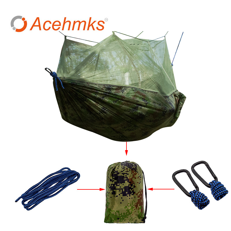 Ultralight Mosquito Net Outdoor Hunting Hammock Camping Mosquito Net for 2 Person Travel Mosquito Net Leisure Hanging Bed ultralight outdoor camping mosquito net parachute hammock 2 person flyknit garden hammock hanging bed leisure hammock travel kit