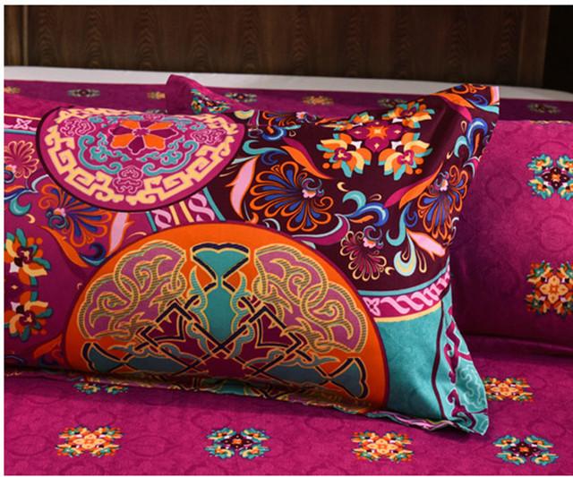 Oriental Mandala Bohemian Quilt & Duvet Cover Set