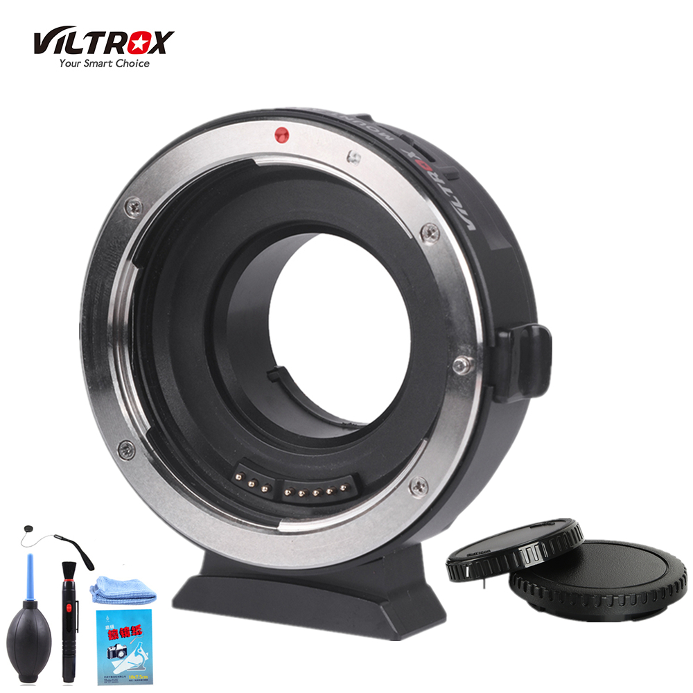 Viltrox EF-M1 Lens Adapter Ring Mount AF Auto Focus for Canon EF/EF-S Lens to M4/3 Micro Four Thirds Camera for GH5/4/3 Olympus объектив sigma af 19 mm f 2 8 dn art for micro four thirds black