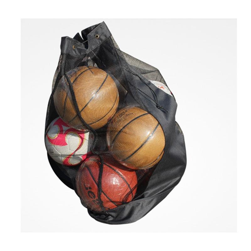 New Hot Outdoor Sporting Soccer Net 10-15 Balls Carry Net Bag Sports Portable Equipment Basketball Balls Volleyball Ball Net Bag Office & School Supplies