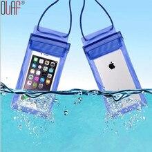 Universal de viagem natação bolsa à prova d' água à prova de sujeira durável case capa para iphone 5 5s se 6 6 s plus para samsung s7 s7 borda(China (Mainland))