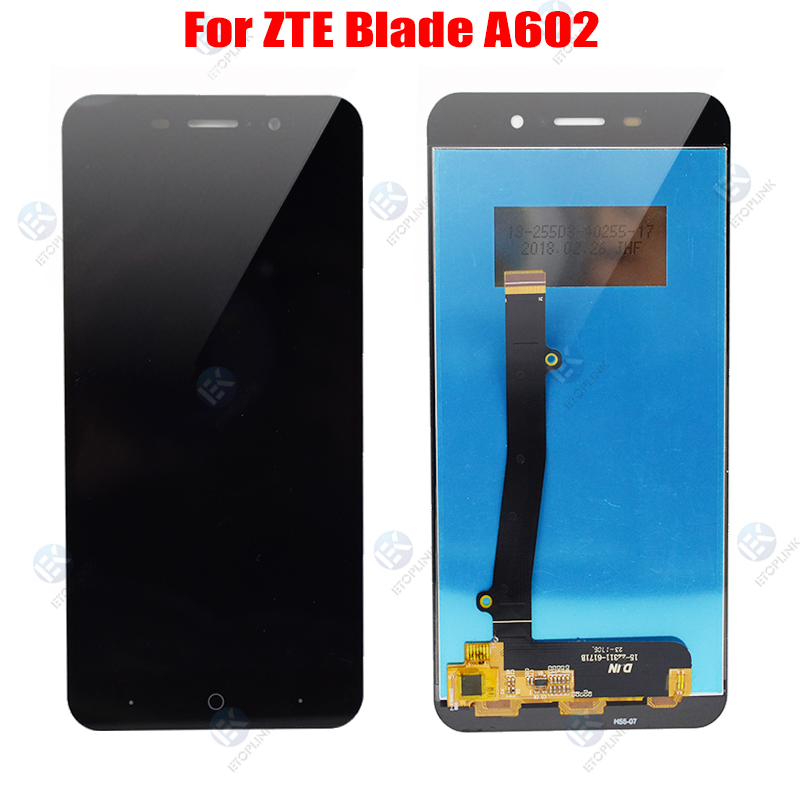 For For <font><b>ZTE</b></font> <font><b>Blade</b></font> <font><b>A602</b></font> BA602 <font><b>LCD</b></font> Touch Digizite Assembly For <font><b>ZTE</b></font> Voyage 4 Plus BA602 <font><b>LCD</b></font> <font><b>Display</b></font> Touch Screen Replacement image