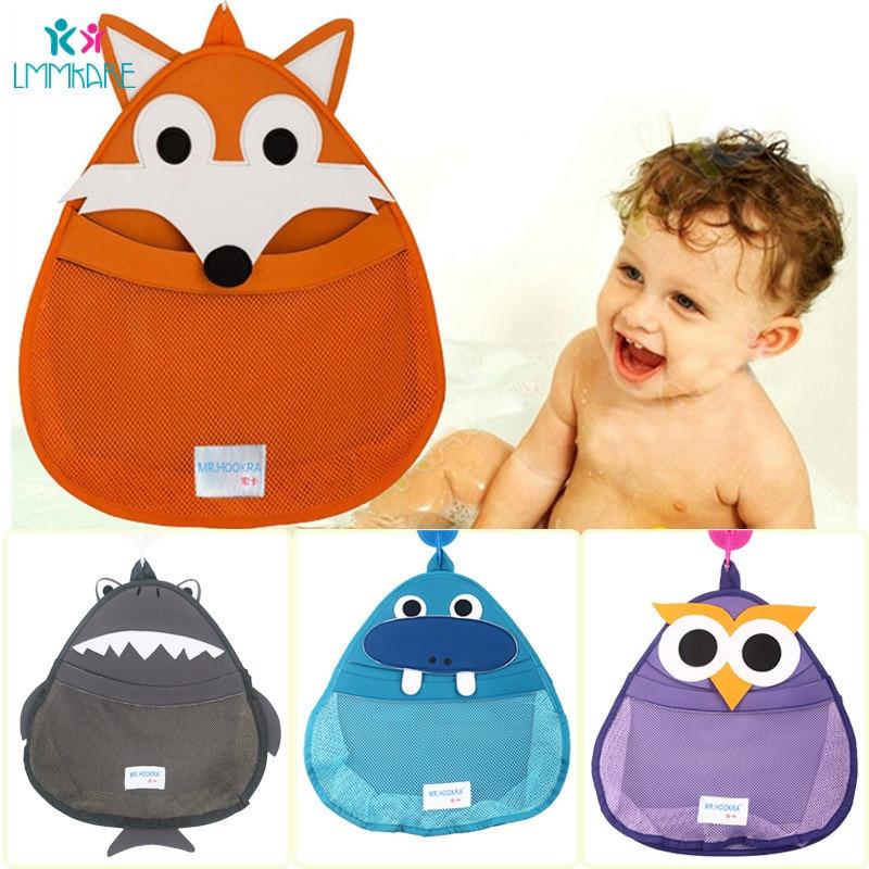 Baby Bathroom Storage Bag Baby Toys Cartoon Waterproof Receive Hanging Net Bag Distribution With Hanging Hook Baby Bedding Sets