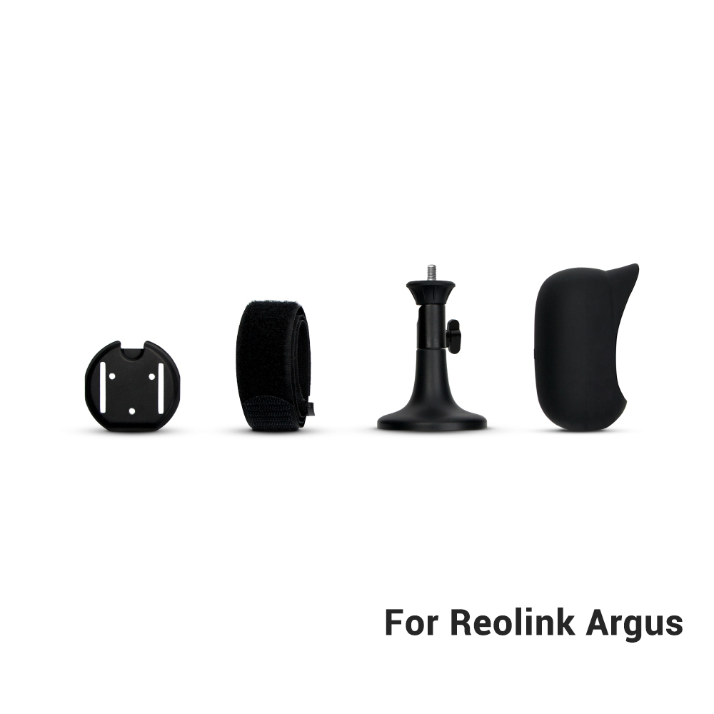 Reolink HD Security Camera Argus Skin Black Full Suit ONLY For Reolink Argus(Not Suitable for Argus 2)