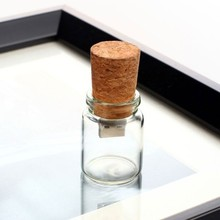 New year gifts customized logo wholesale price wooden cork glass usb memory drives usb flash 2gb