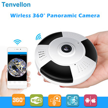 HD 960P 3D VR Wi-Fi Ip Camera 360 degree FishEye 1.3MP Panoramic Security Mini CCTV Camera Wireless Smart Camera TF Card Slot IR(China)