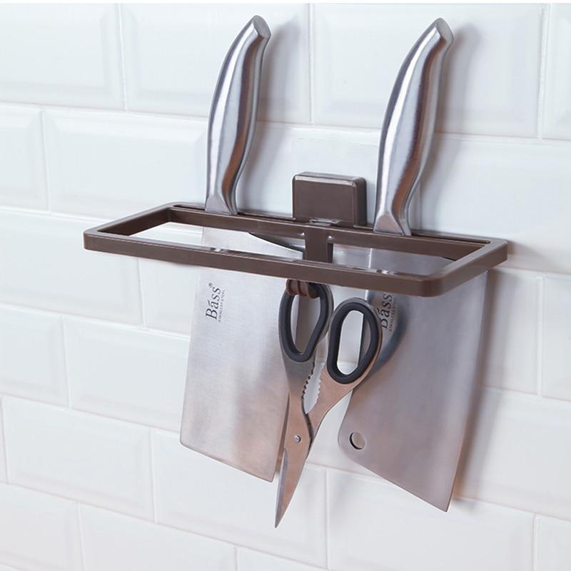 050 Kithen Tool holder kitchen appliance knife rack wall mounted multifunctional household 10cm*24.5cm