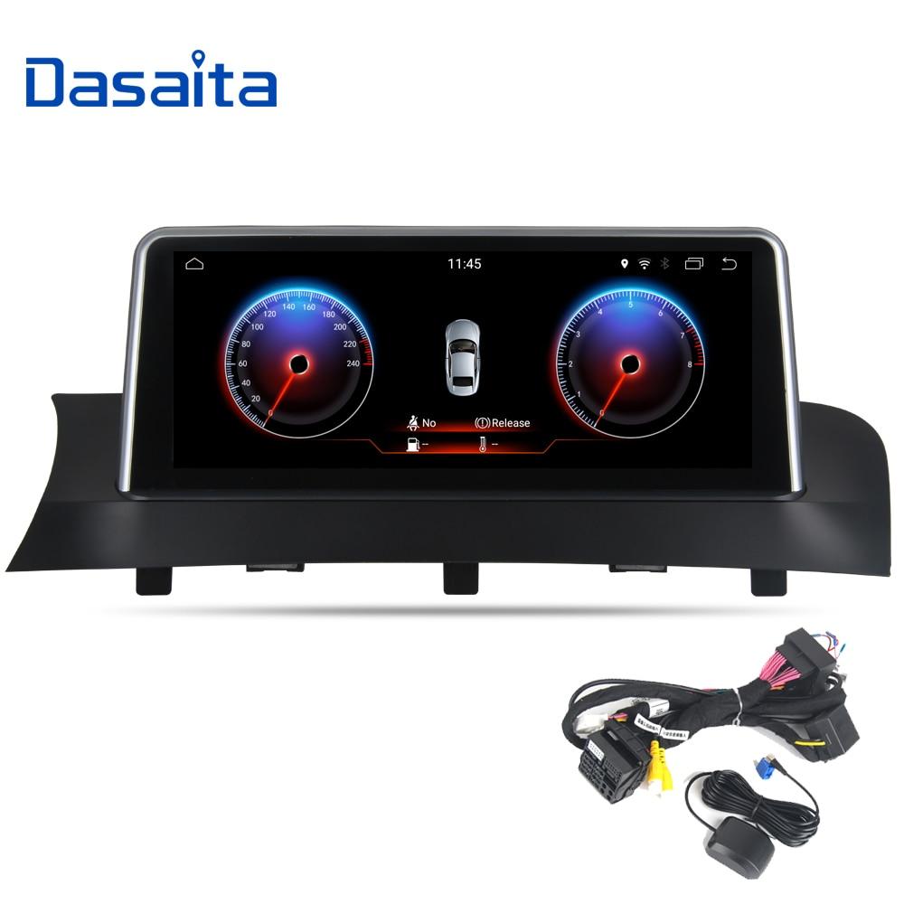 10,25 Android 7,1 coche estéreo de Audio para BMW X3 F25 X4 F26 2011, 2012, 2013, 2014, 2015, 2016, 2017 navegación GPS Bluetooth Wifi NBT