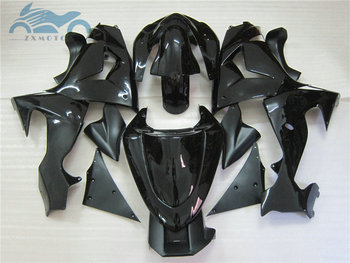 Custom high quality fairings kit for KAWASAKI Ninja 2006 2007 ZX10R motorcycle racing fairing kits ZX 10R 06 07 black body parts