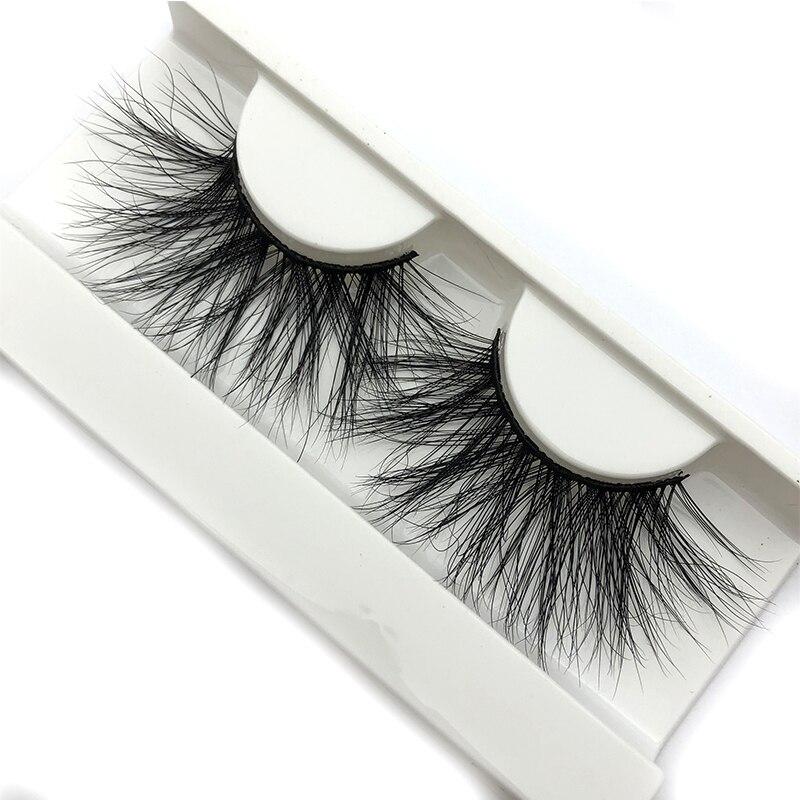 Image 2 - Mikiwi 25mm 3D Mink Lashes E04 100% Cruelty free Thick soft Natural 25mm Mink Lashes False Eyelashes Makeup Dramatic Long Lashes-in False Eyelashes from Beauty & Health