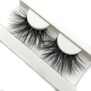 Image 2 - Mikiwi 25mm 3D Mink Lashes E04 100% Cruelty free Thick soft Natural 25mm Mink Lashes False Eyelashes Makeup Dramatic Long Lashes