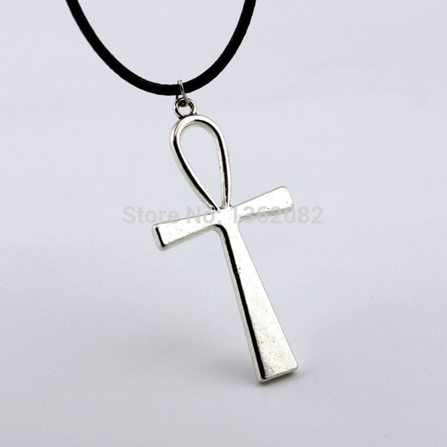 New arrival fashion jewelry men womens vintage silver egyptian ankh new arrival fashion jewelry men womens vintage silver egyptian ankh pendant necklace amulet gift yn388 mozeypictures Image collections
