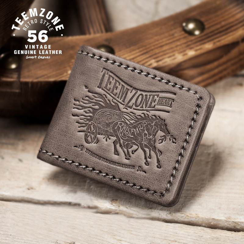 New Brand High Quality Genuine Leather Short Men Wallet Cowhide Purse Male Fashion Real Leather Retro Man Standard Wallet  j50 2018 sale new brand fashion genuine leather cadet for man baret cowhide flat cap cabby hat vintage baseball ivy driving cs89