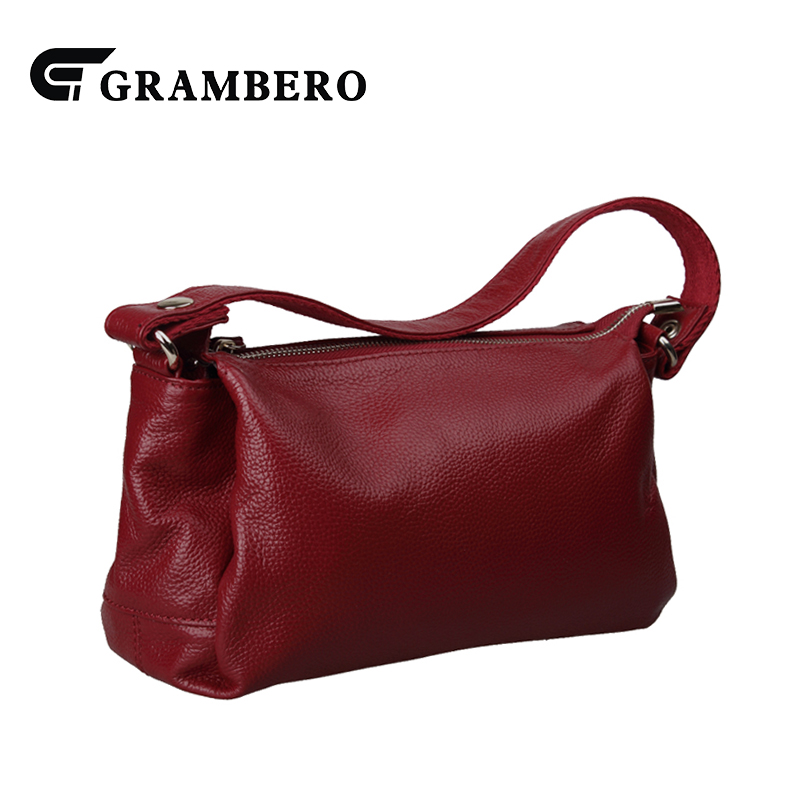 Casual Solid Color Handbag Women Party Shoulder Crossbody Bag Soft Genuine Leather Top Leather Zipper Top-handle Bags for Gifts fashion relief rose flower pattern handbag pu leather genuine leather zipper ring top handle bag lady party shoulder bags gifts